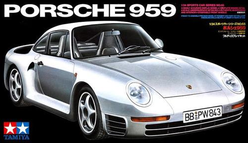 Tamiya - 1/24 Porsche 959 Plastic Model Kit [24065]