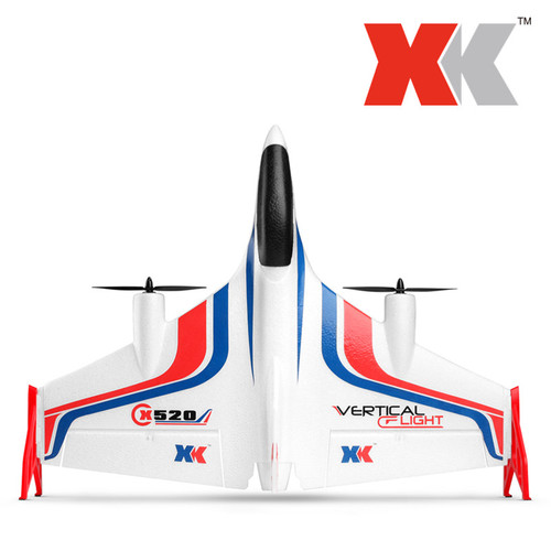 X520 Fighter 6CH Brussless Vertical Takeoff and Landing Stunt RC Plane