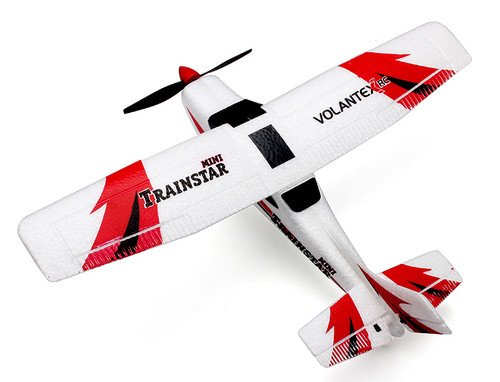 Volantex V761-1 Trainstar Mini 2.4G 3CH 6 Axis Gyro Micro RC Airplane RTF