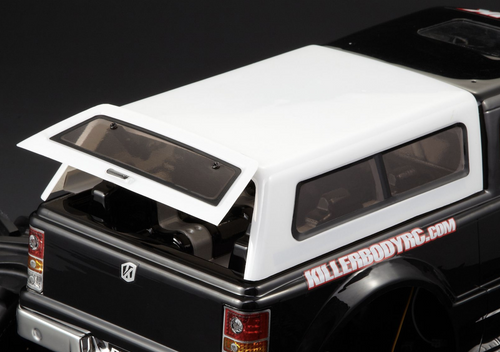 Killer Body 1/10 Modified Truck Topper Set for Monster Truck Clear