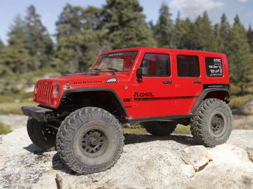 Axial 1/10 SCX10 II 2017 Jeep Wrangler Unlimited CRC Brushed Rock Crawler 4WD RTR