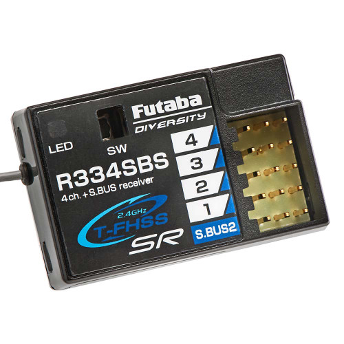 Futaba R334SBS S.Bus2 T-FHSS SR HV Receiver