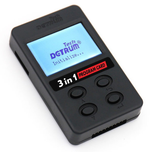 Detrum 3-in-1 Programming Card for iStone Stabilizers and Tomcat ESCs