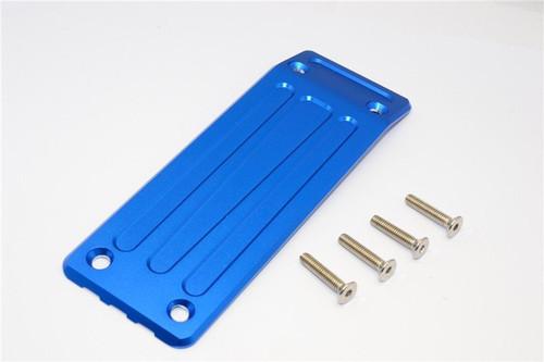 TRAXXAS 1/8 X-Maxx Aluminium Rear Skid Plate - 1pc set - GPM TXM331R