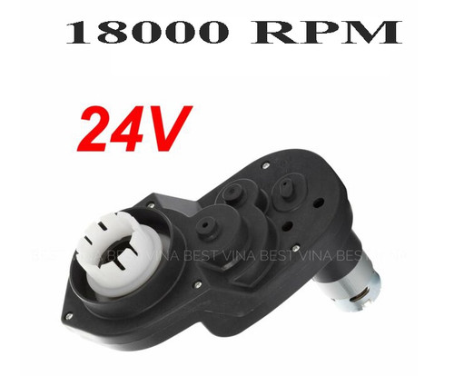 24v polaris gearbox with 550 motor 18000RPM