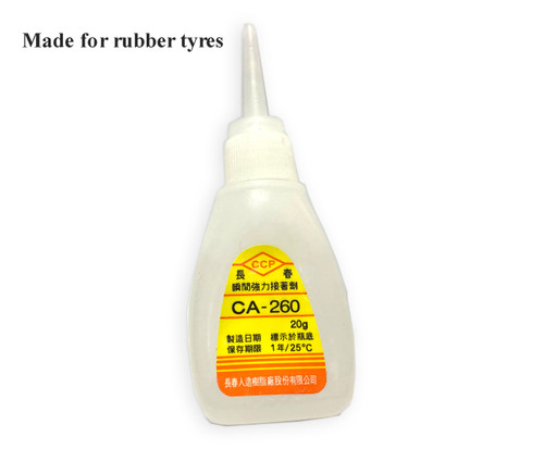 CA Glue for Rubber Tryes - 20g