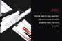 OMP Hobby T720 716mm Wingspan Beginner Glider Electric Plane Ready to Fly