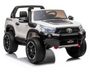 2021 Licensed Toyota Hilux Ute  4x4  4WD Licensed Electric Ride On Toy for Kids - White & Black