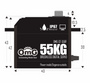 OMG 55kg Brushless Waterproof Digital Servo