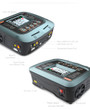 SkyRC Q200 Quad-channel charger with 4 independent circuits