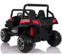2019-New 24V Polaris Style 2 Wheel Drive ride on Two seats w/ Rubber tyres (Red)