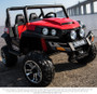 New 24V Polaris Style 2 Wheel Drive ride on Two seats w/ Rubber tyres (Red)