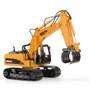 HUI NA TOYS 1570 Excavator Timber Grab Crawler 2.4G 16CH RC Engineering Vehicle