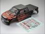 Killer Body RUBIK 1/10 Electric Monster Truck Flame pattern (Printed)