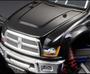 Killer Body Modified Hood & Front Fender Set for Monster Truck Clear