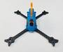 Floss 3.0 Canopy with Axii Mount - P3D (Piro Blue with Orange Fin)