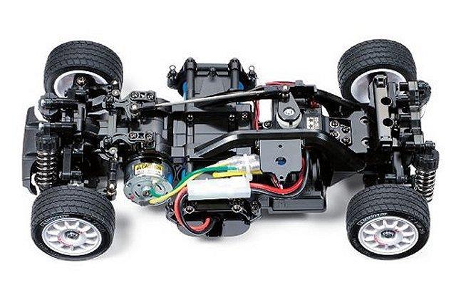Tamiya CC-01 Rock Block Tire Soft 2pcs 4WD 1:10 RC Cars Truck Off Road #54598