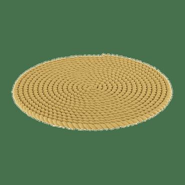 Yellow Round Rug