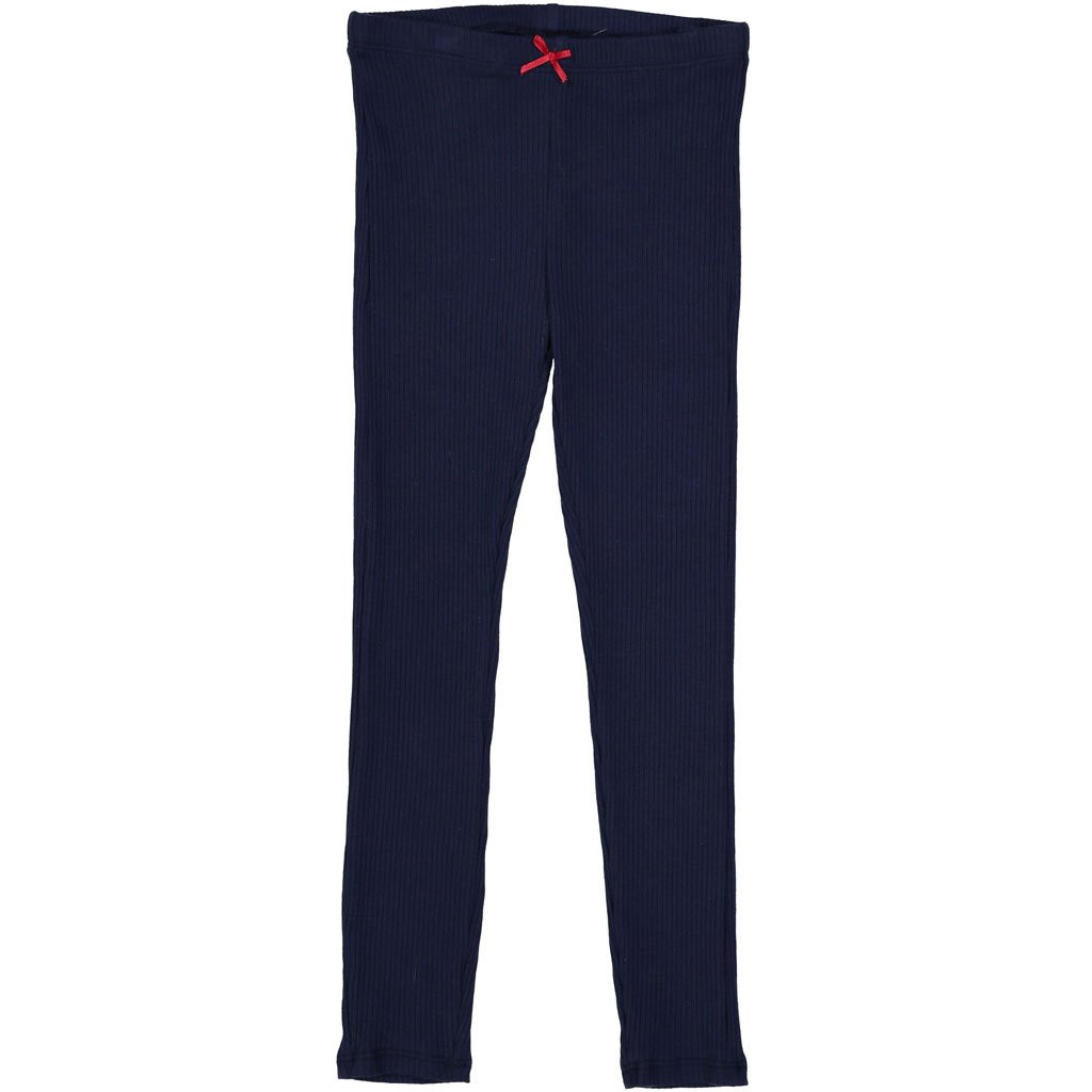 Rib Leggings Navy