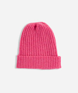 Chunky Cashmere Beanie, Starlet Pink