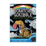 Mini Scratch & Scribble Art Kit: Playful Pups