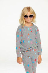 Bliss Knit Pullover, Starry Bolts