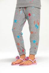 Bliss Knit Sweatpant, Starry Bolts