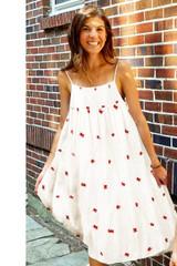Tia Dress, Antique White