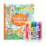 OOLY - Knights & Dragons Switcheroo Coloring Giftables Pack**