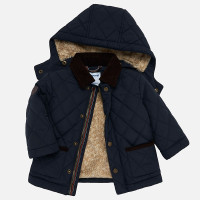 Baby Padded Coat, Navy