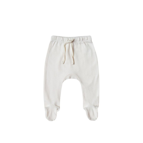 Footed Pant, Ivory