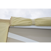 Winnebago Contour-fit Class A RV Cover, rolled up panel detail