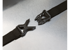 Strap and buckle detail