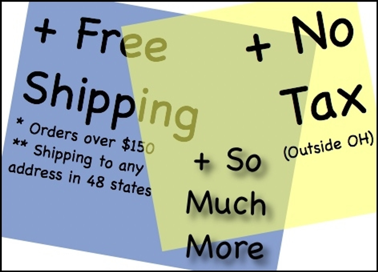 Free Shipping is Included!
