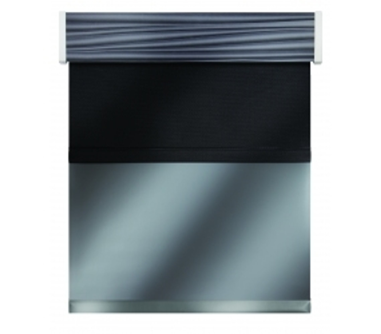 Impulse Day|Night Roller Shades with Valance
