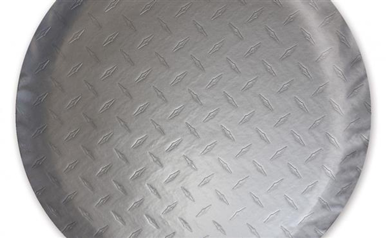 Diamond Plated Tire Covers