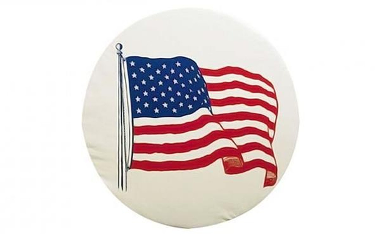 American Flag Tire Covers