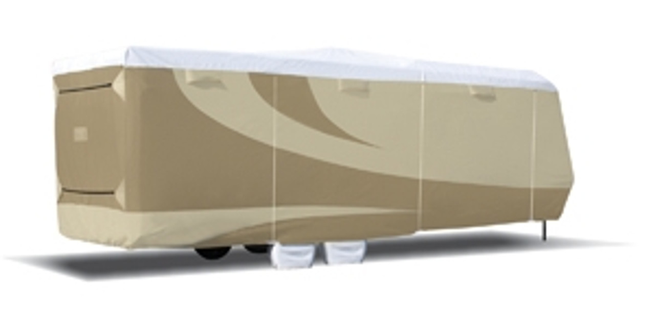 Designer Series Tyvek RV Covers-- Toy Hauler TT
