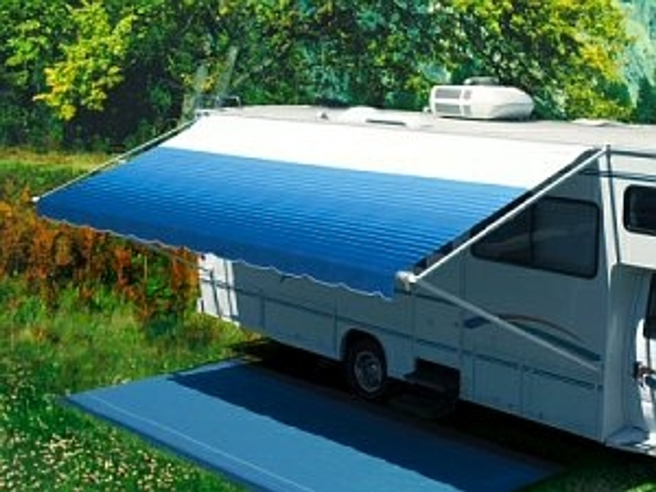 Pioneer manual crank-out RV Awnings, Complete