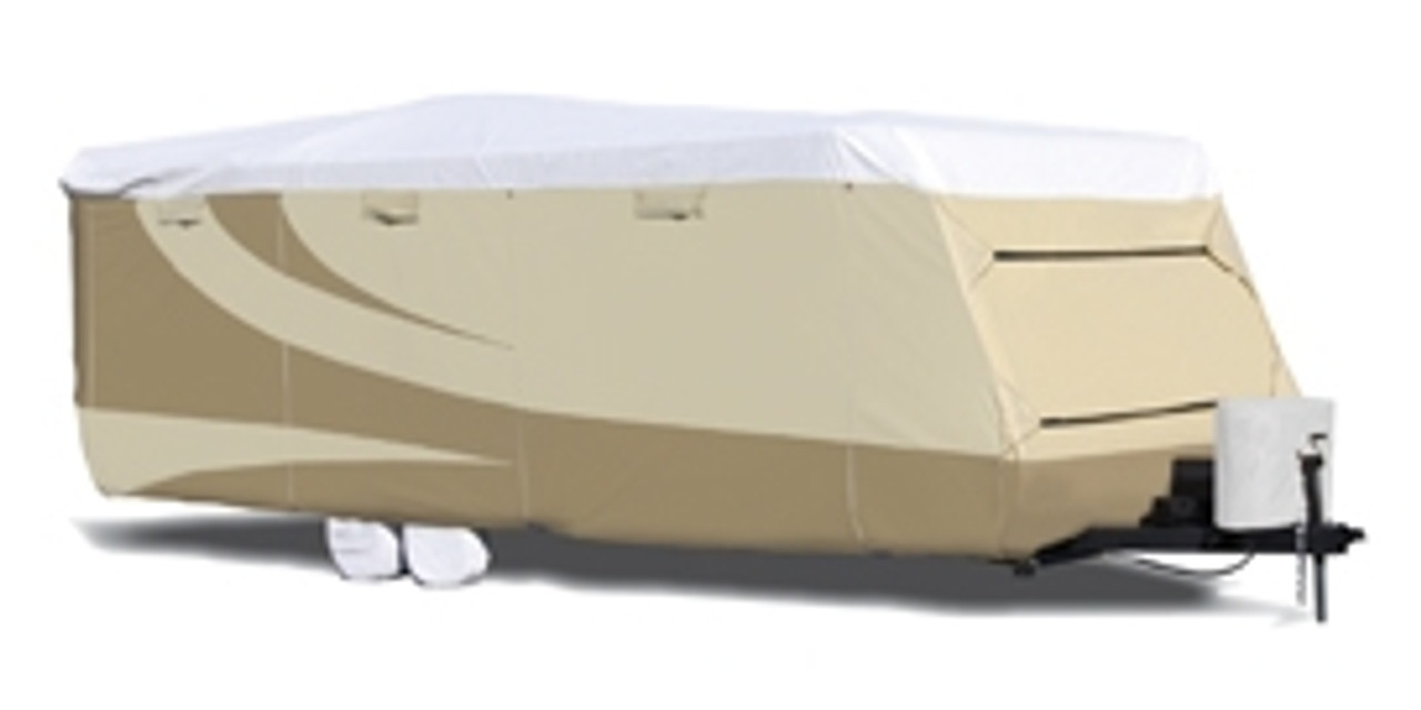 Designer Series Tyvek RV Covers, Travel Trailer