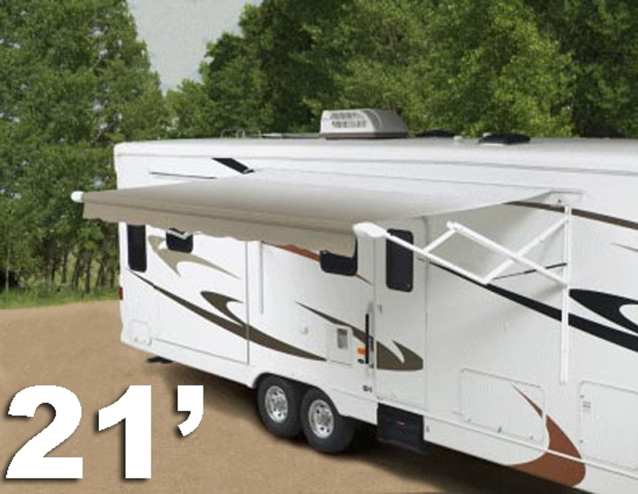 21' RV Patio Awnings, Complete