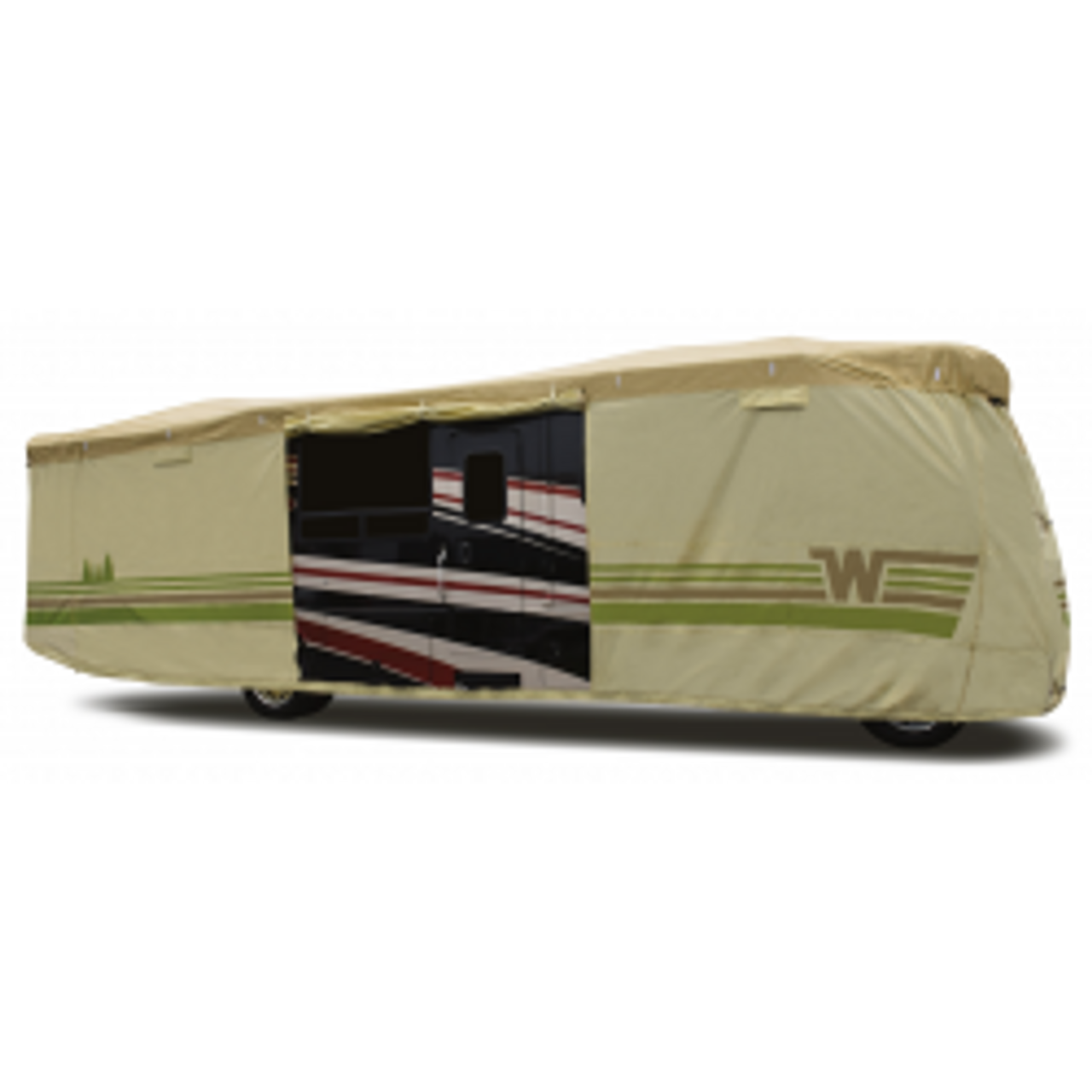 Contour-fit Class A RV Covers