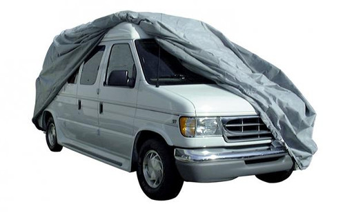 Van Cover Class B AquaShed by Adco - Up to 19' w/ 24'' Bubble Roof Top (Small)