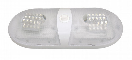 LED Interior Pancake Light, double, Daylight Light