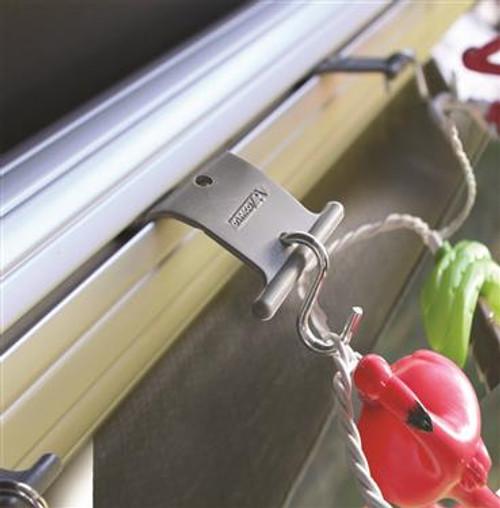 RV Party Light Holders, tabs w/metal hooks