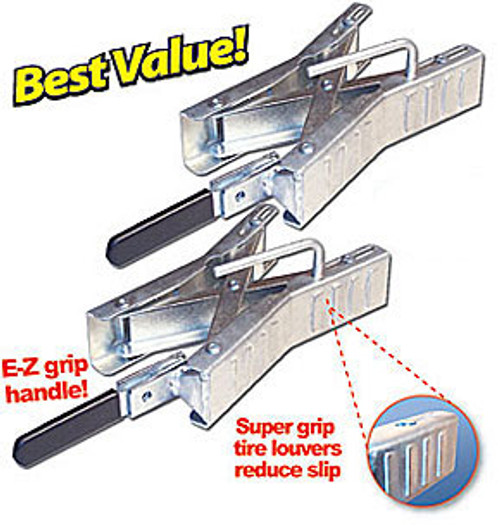 Ultra Chock Wheel Stabilizer - 2 Pack