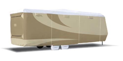 """Designer Series Tyvek RV Cover, Toy Hauler TT - Size: 33'7""""-37'"""