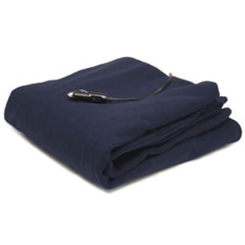 12-Volt Heated Fleece Blanket, Extra Large