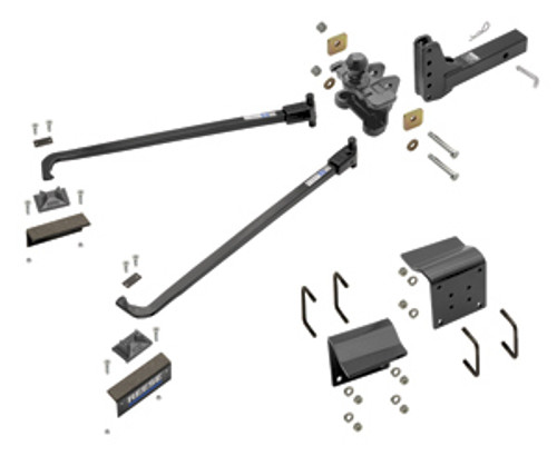 Steadi-Flex Weight Distribution System - Weight-Distributing for Fleetwood/Coleman trailers