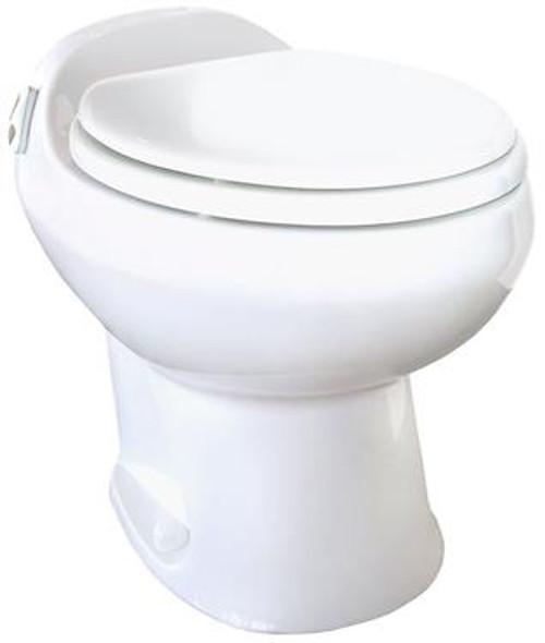 Aria Deluxe II RV Toilet - High Model - Bone